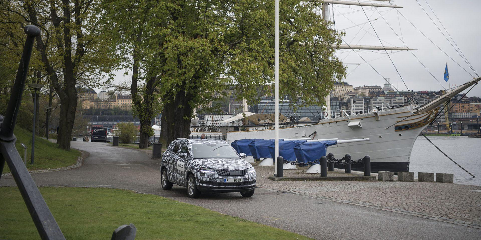 KAROQ míří doStockholmu, 3.část: Švédsko