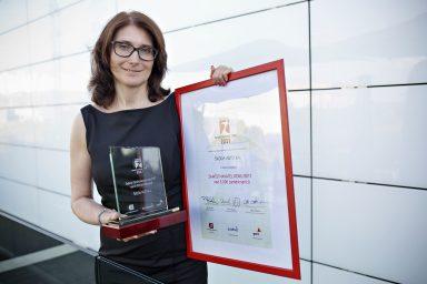 ŠKODA AUTO byla v České republice podruhé za sebou oceněna titulem 'Zaměstnavatel roku'