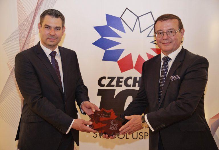 ŠKODA AUTO podvacáté v čele CZECH TOP 100