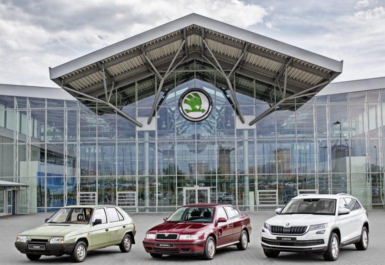ŠKODA AUTO vyrobila od spojení s koncernem Volkswagen 15 000 000 vozů