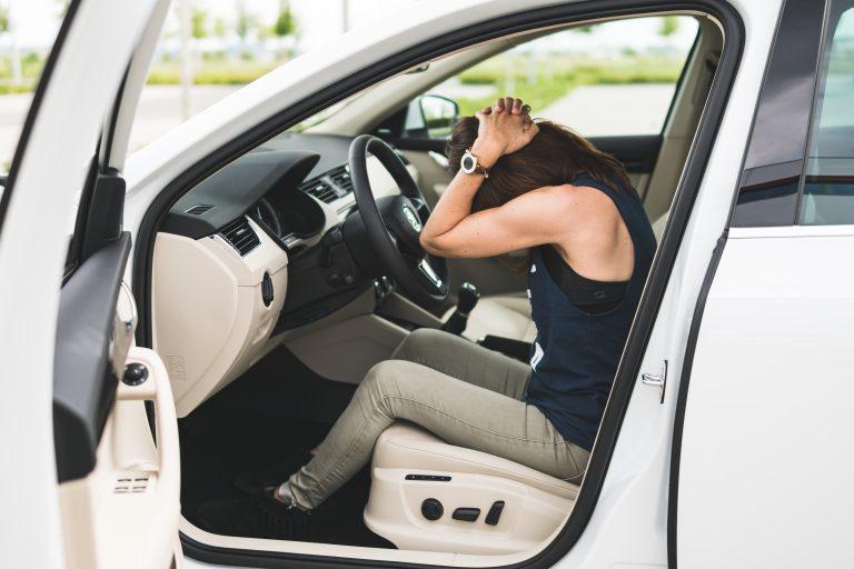 Jóga za volantem