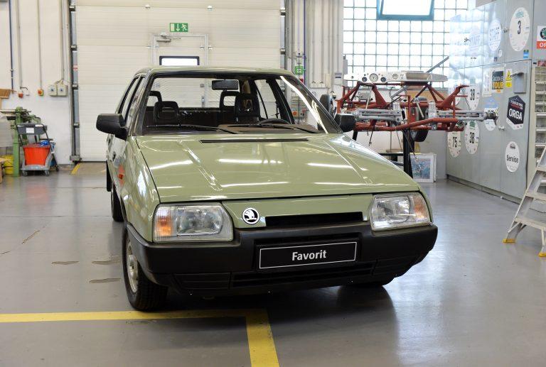 The ŠKODA FAVORIT prototype