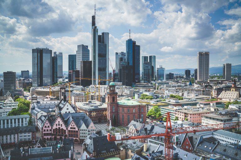Frankfurtské mrakodrapy