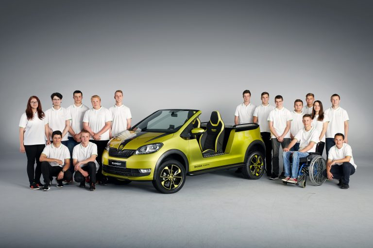A new student car: the ŠKODA ELEMENT