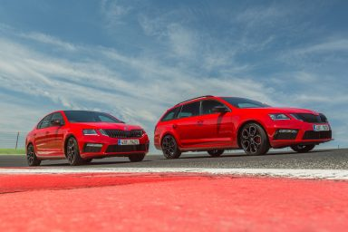 ŠKODA OCTAVIA RS 245: sporty, spacious and practical – Press kit