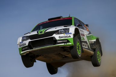 Rally Italia Sardegna: Kopecký/Dresler secured their first WRC 2 win of the season for ŠKODA