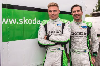 Rally Poland: Pontus Tidemand and Jonas Andersson     want to continue WRC 2 winning streak for ŠKODA
