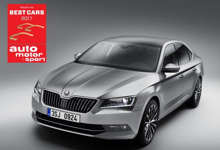 Vozy ŠKODA vévodí anketě Best Cars