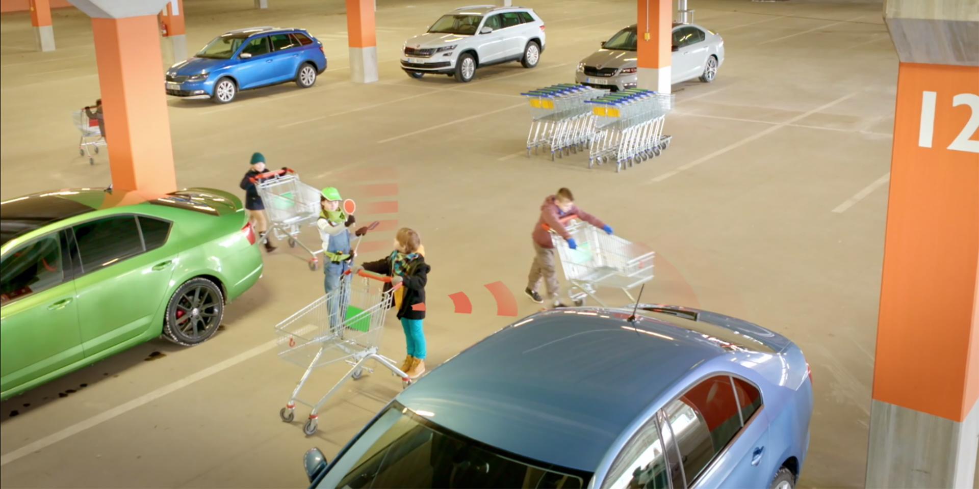 Polopatě: asistenční systémy ŠKODA – 2. díl