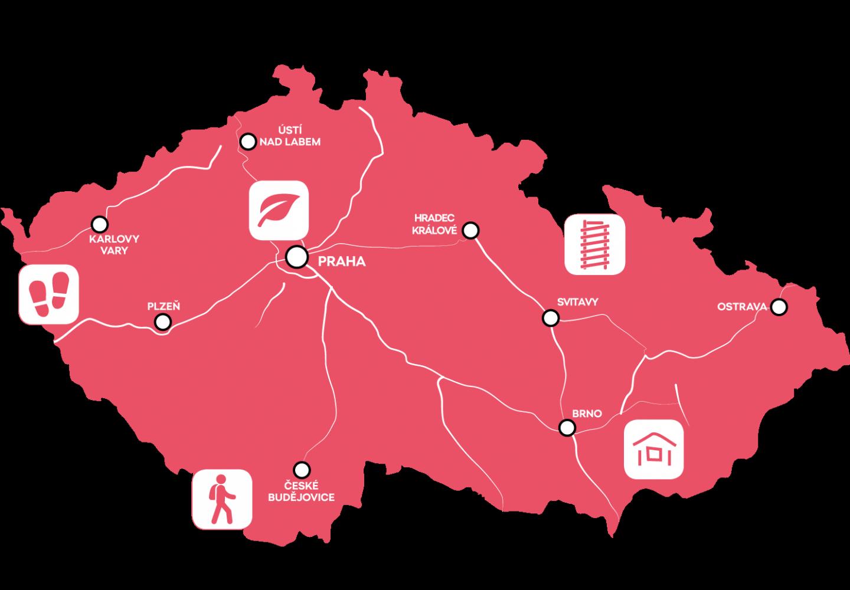 Autem po Česku