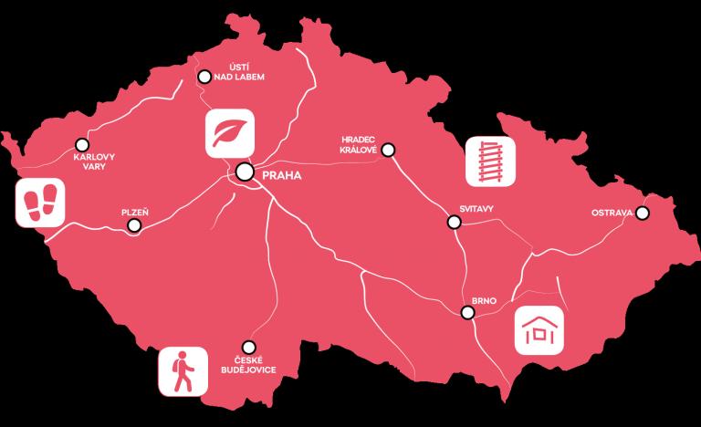 Driving through Czech Republic