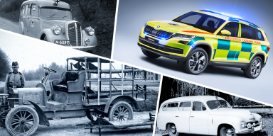 100 Years of Tradition: ŠKODA Ambulances