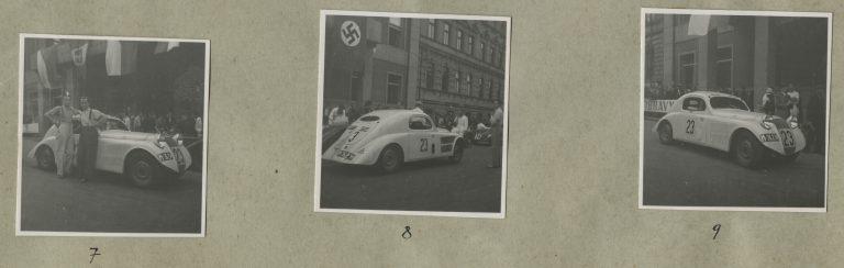 První závodní vozy ŠKODA, rok 1935