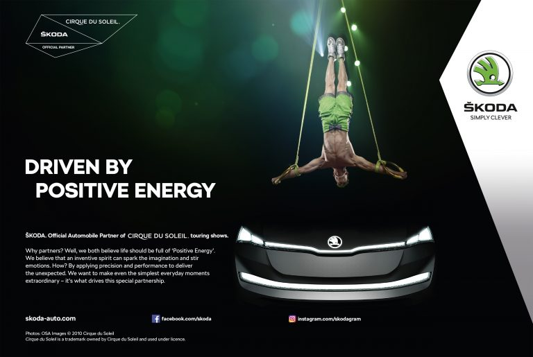ŠKODA and Cirque du Soleil enter long-term partnership