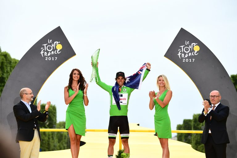 Michael Matthews wins the Green Jersey