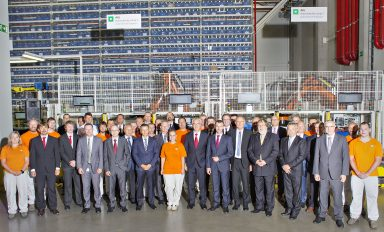 ŠKODA AUTO opens automatic warehouse for small-size parts in Kvasiny plant