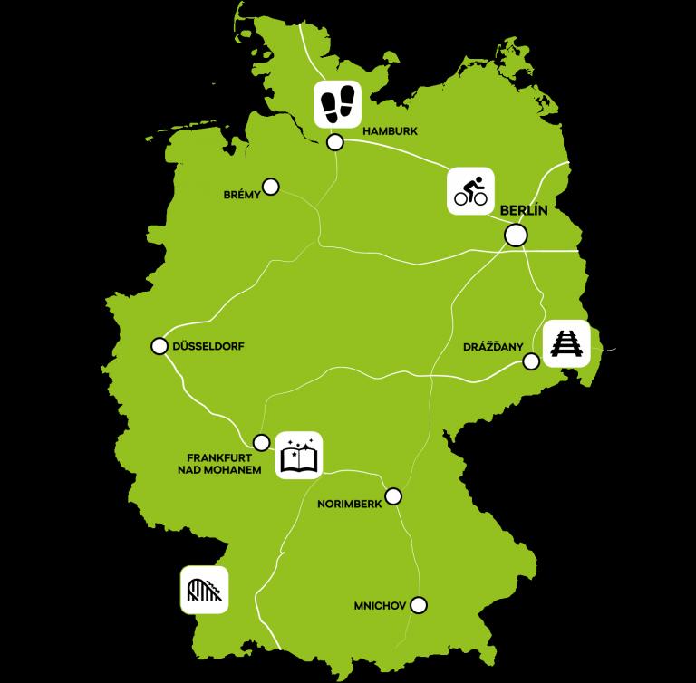 Autem po Německu