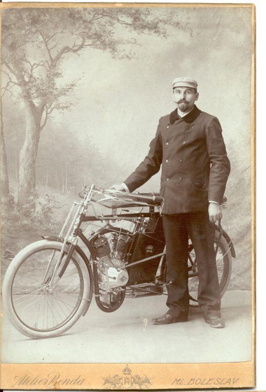 Motocykl L&K, rok 1901