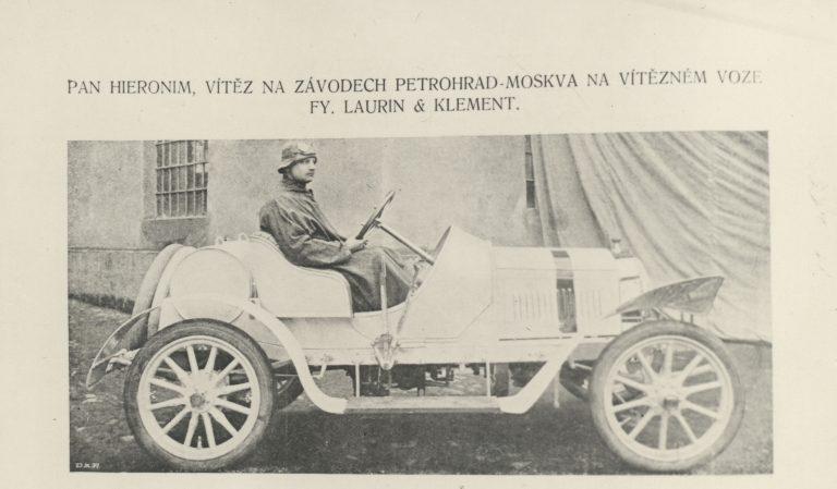 Vítězství vozu L&K, rok 1908