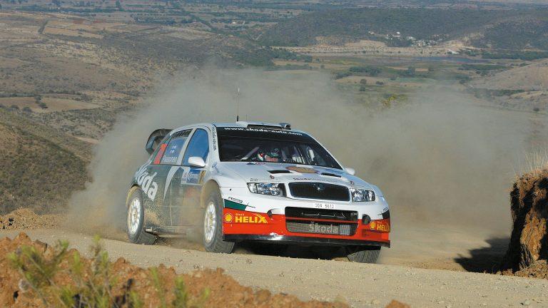 ŠKODA FABIA WRC, rok 2003