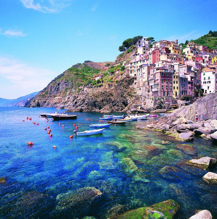 Pearl of the Ligurian riviera