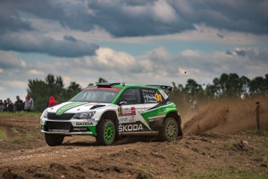 Rally Poland: ŠKODA Motorsport's Tidemand increases  WRC 2 lead, debut win for Youngster Ole Christian Veiby