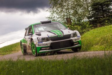 Rally Bohemia: Kopecký/Dresler secured third  title in a row with win at the home event of ŠKODA