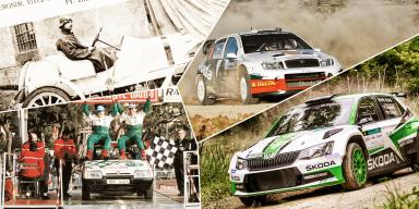 ŠKODA Motorsport: Úspěch vycházející ztradice