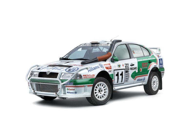 ŠKODA OCTAVIA WRC, 1999