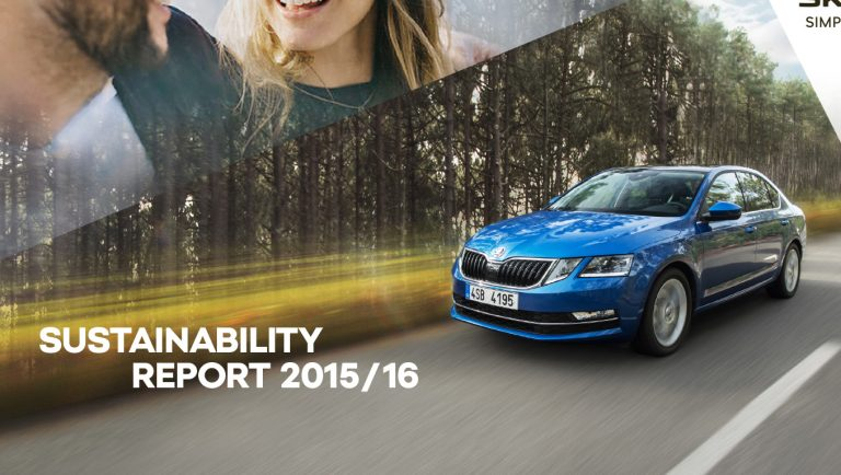 Sustainability Report 2015/16: ŠKODA AUTO impresses with exemplary environmental protection and strong social engagement