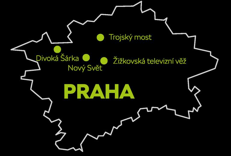 Skrytá místa Prahy