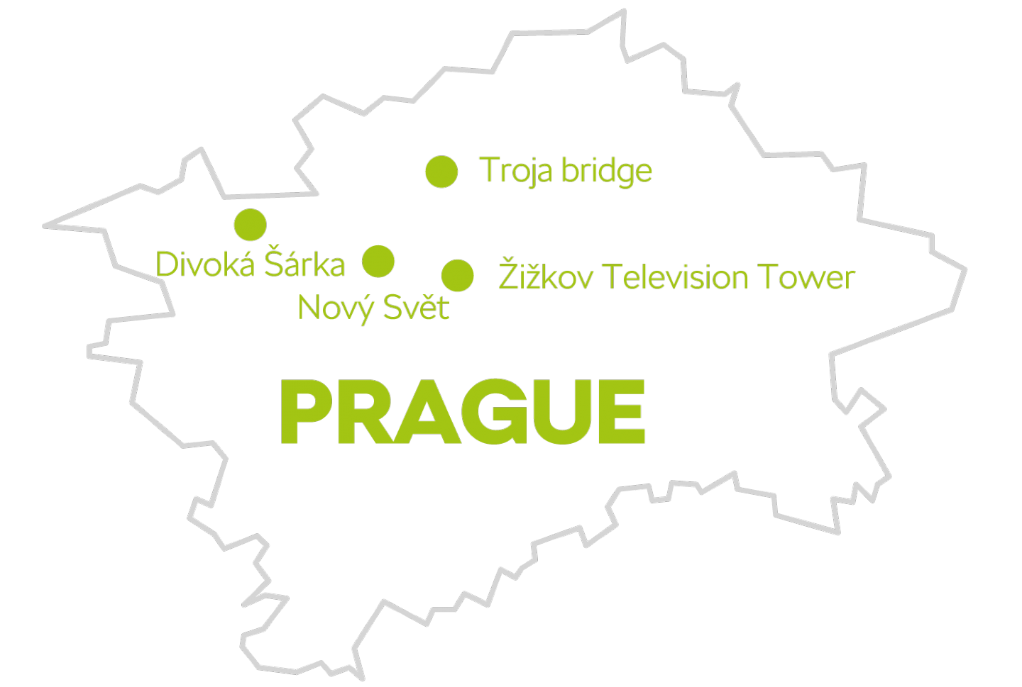 Hidden places in Prague