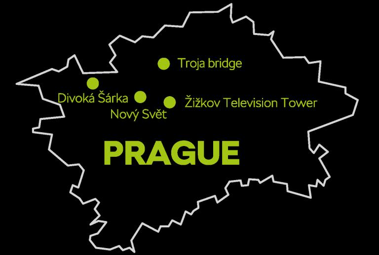 Hidden places in Prague