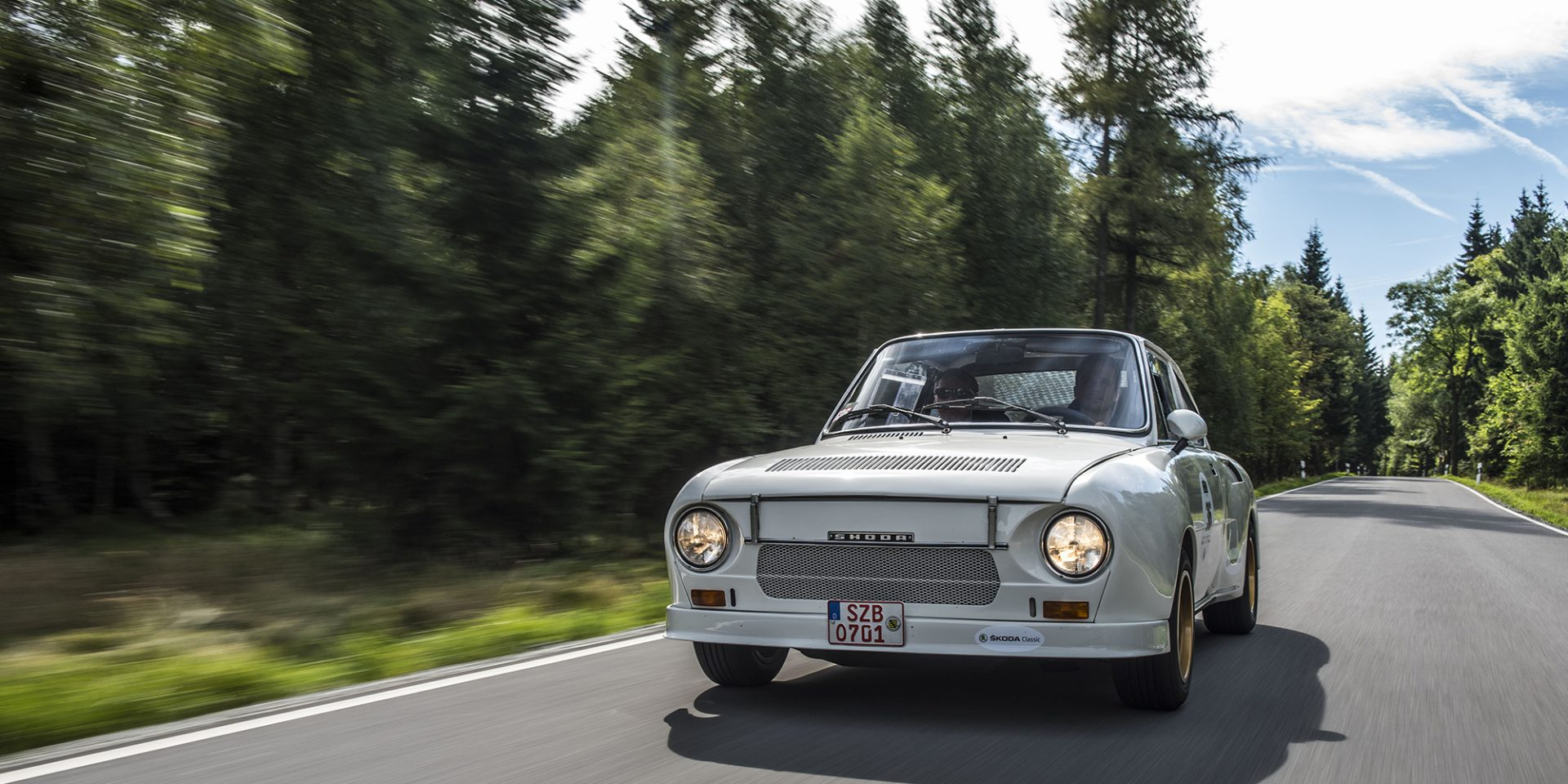 First-hand Classic Rally Experience