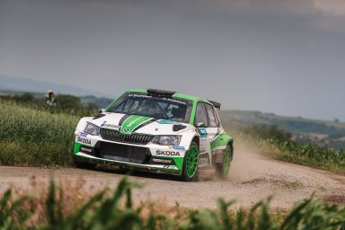 ADAC Rallye Deutschland: ŠKODA Motorsport and Pontus Tidemand with match point for title win