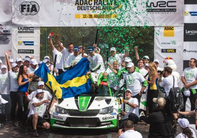 ADAC Rallye Deutschland: Tidemand/Andersson and ŠKODA secure WRC 2 titles