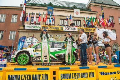 Barum Czech Rally Zlín: Reigning champions Kopecký/Dresler score sixth win in a row for ŠKODA