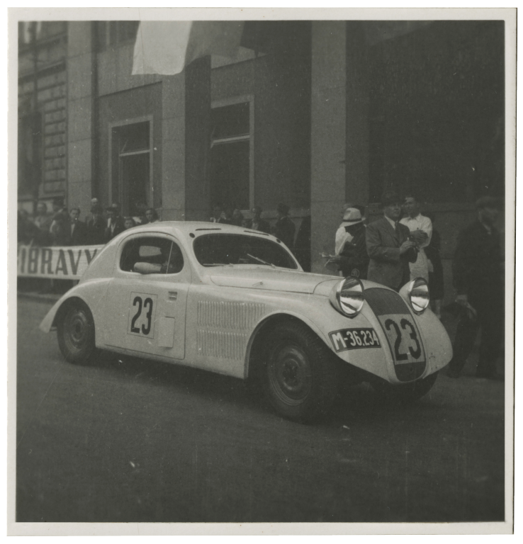 First ŠKODA race cars, 1935