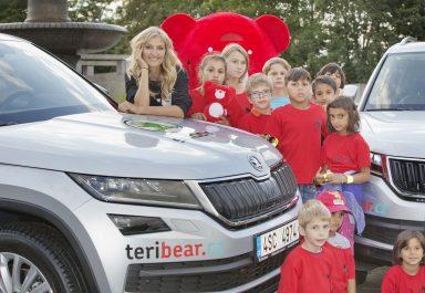 ŠKODA AUTO již potřetí generálním partnerem charitativních běhů TERIBEAR
