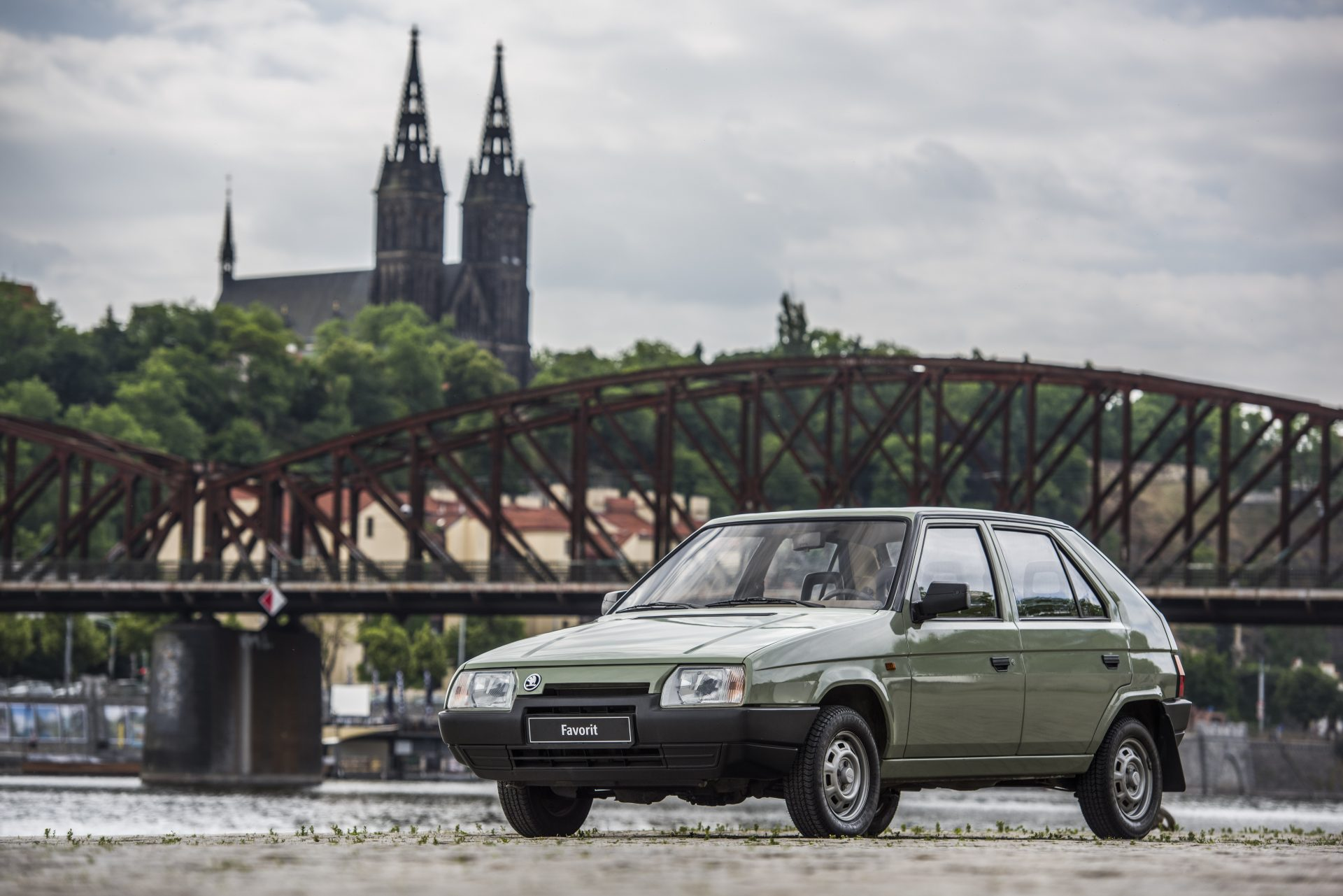 ŠKODA FAVORIT: Entering an era of success 30 years ago