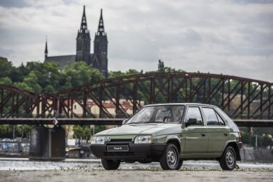 ŠKODA FAVORIT: Entering an era of success 30 years ago