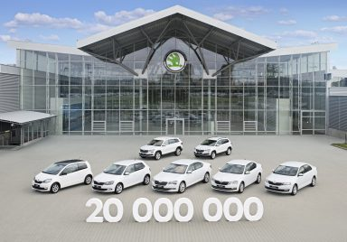 ŠKODA AUTO reaches milestone of 20 million cars produced