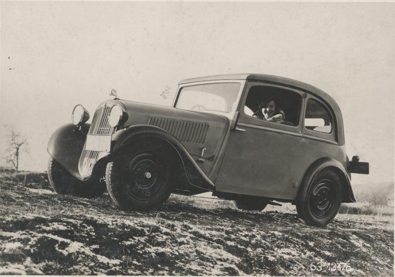 ŠKODA POPULAR - 1934