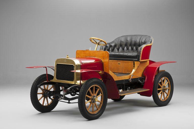 LAURIN & KLEMENT VOITURETTE A - 1905