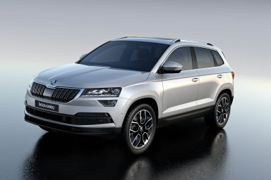 ŠKODA KAROQ awarded Best New Design among all compact SUVs
