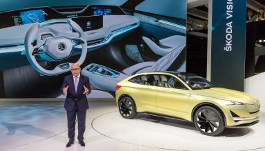 ŠKODA with three attractive SUVs and VISION E study at IAA in Frankfurt