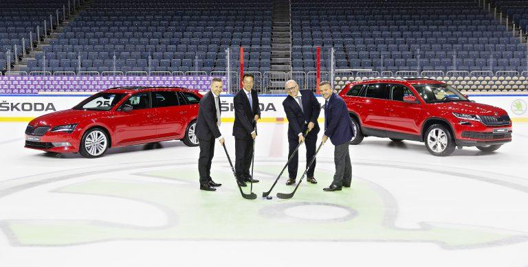 ŠKODA je na další čtyři roky oficiálním hlavním sponzorem IIHF Mistrovství světa v ledním hokeji