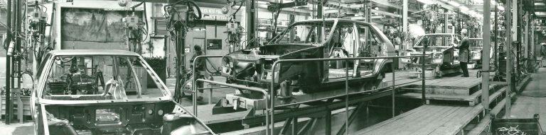 Výroba vozu ŠKODA FAVORIT