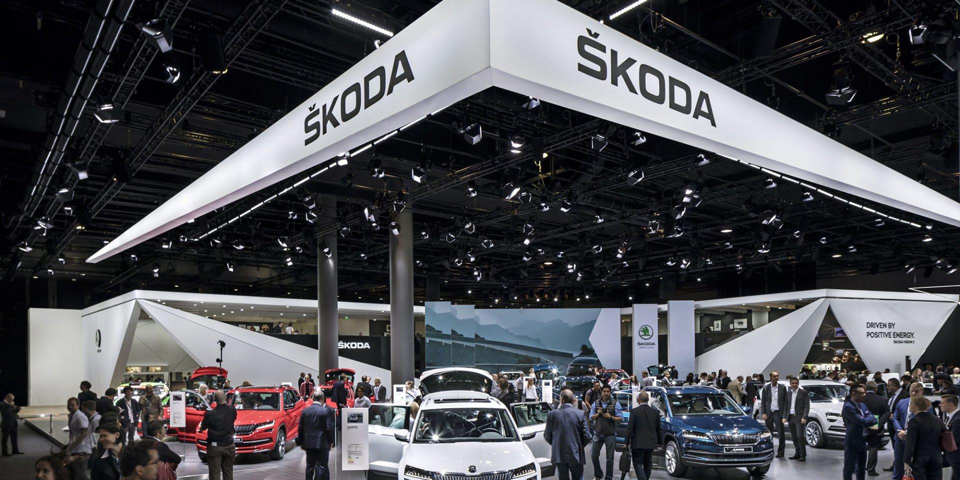 Enter the World of ŠKODA in Frankfurt