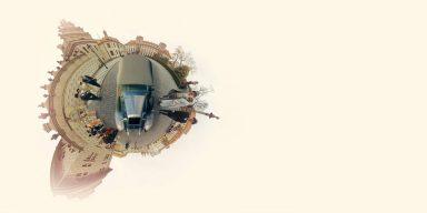 Virtuální jízda historickou Prahou